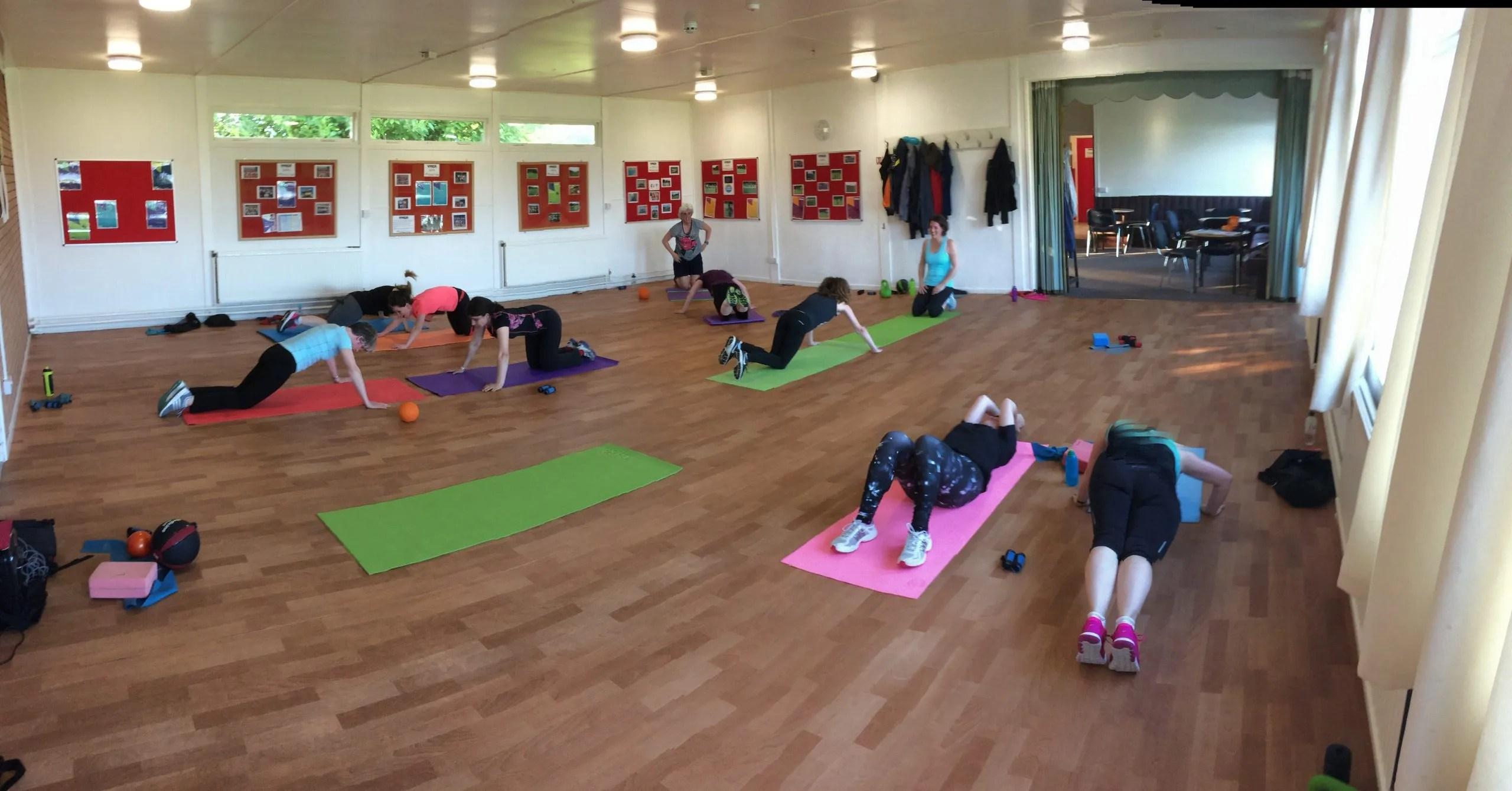 Exercise class in Leeds