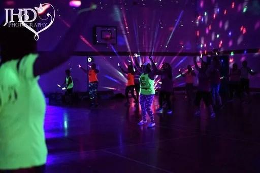 Disco fitness classes in Northampton