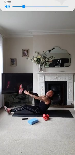 Online Personal Training Session
