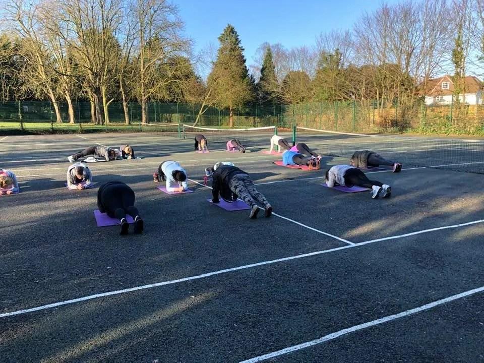 Core strength class in Hillingdon area of London