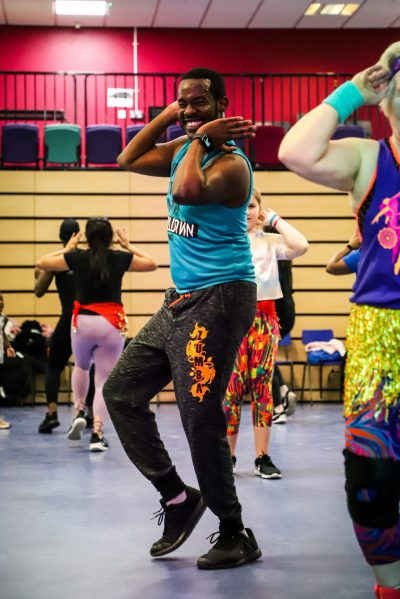 Zumba class in Leicester