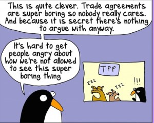 trade cartoon snippet