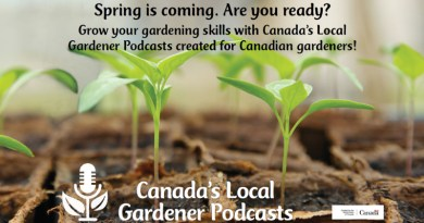 Canada's local gardener podcast