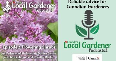 flowering shrubs of canada podcast