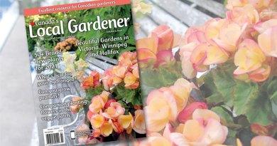 Canada's local gardener magazine volume 2 issue 3