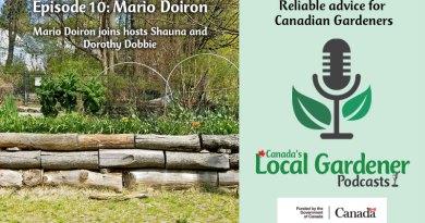 Canada's Local Gardener Podcast Mario Doiron
