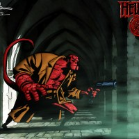 Hellboy (Art: Bruce Timm) Colored