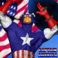 Captain America - Stars n Stripes