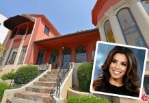 Eva Longoria Mediterranean-style home in Hollywood Hills