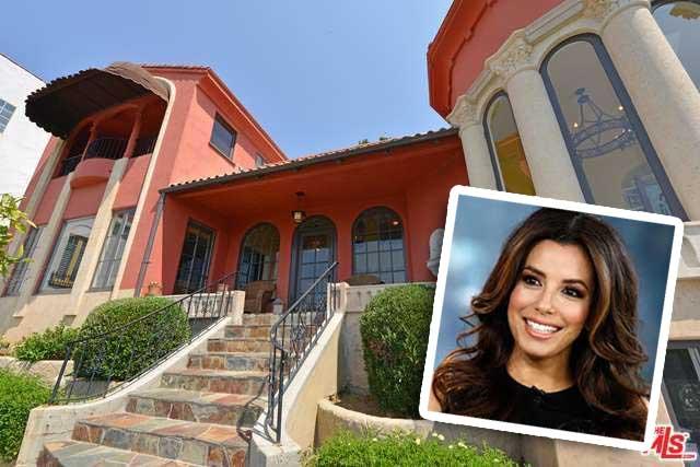 Eva Longoria Mediterranean-style home in Hollywood Hills