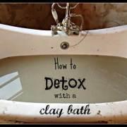 Detox Clay Bath
