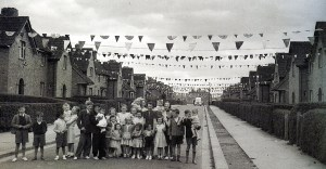 Southmead in coronation year 1953