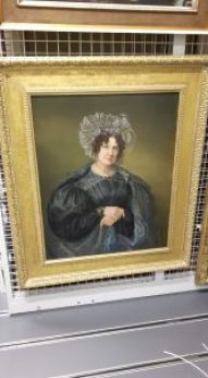 Portrait in oils of Ellen Sharples (1830 by Rolinda Sharples) RWA collections