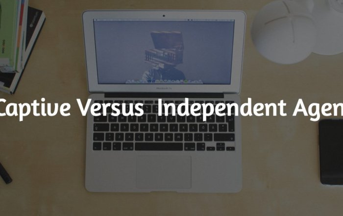 Captive Versus Independent Agents