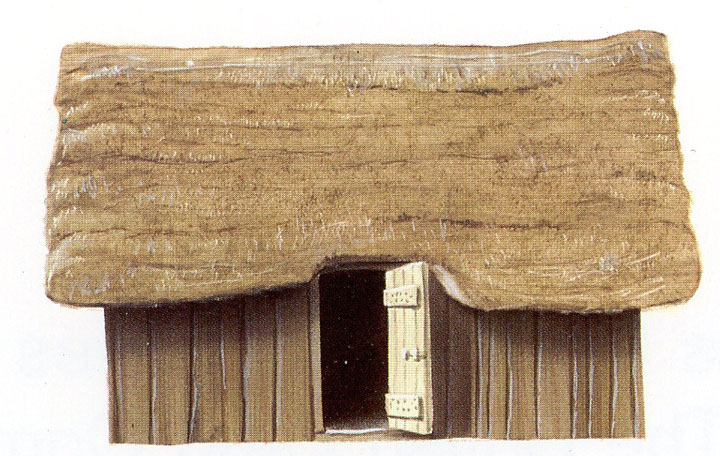 AD650 Anglo Saxon House