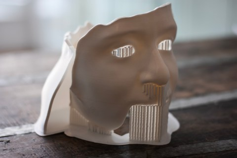 3D printed face part by Local Makers
