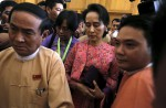Dawn of a new era in Myanmar as Aung San Suu Kyi's party takes over - 1