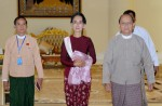 Dawn of a new era in Myanmar as Aung San Suu Kyi's party takes over - 13