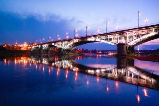 Poniatowski Brücke in Warschau