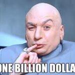 one billion dollars dr evil