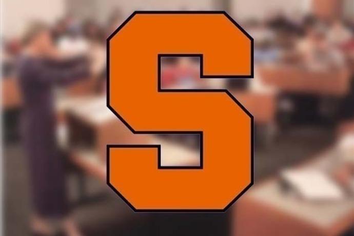 Syracuse University logo, classroom_-4208372419788059704