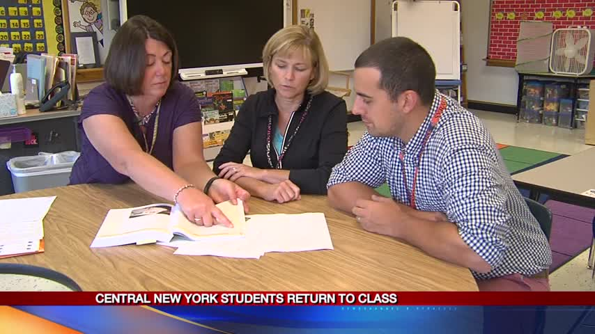 Teachers prepare for students weeks before first day_95023775