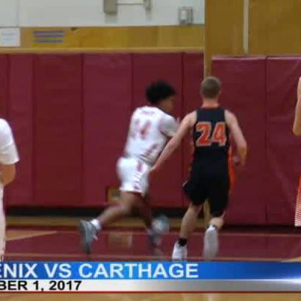 FNF Raw: Phoenix vs. Carthage 12-1-17