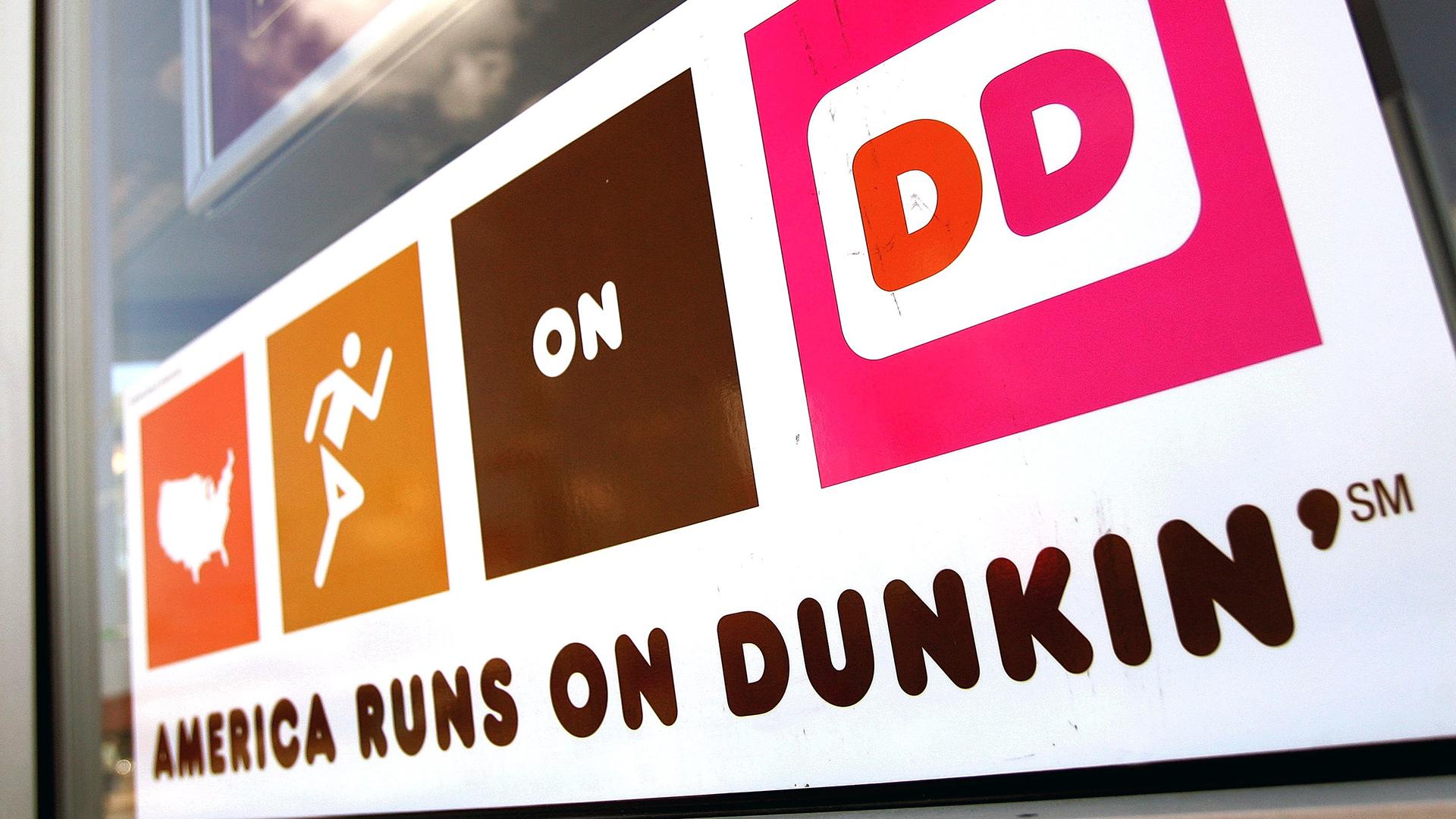 America Runs on Dunkin Donuts sign-159532.jpg31114855