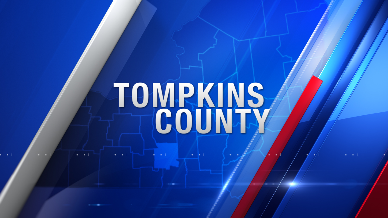 Tompkins County map