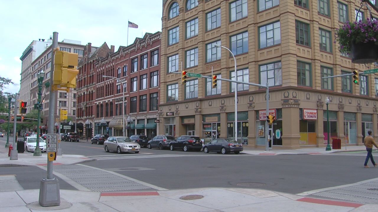 Downtown Syracuse Fayette and Salina