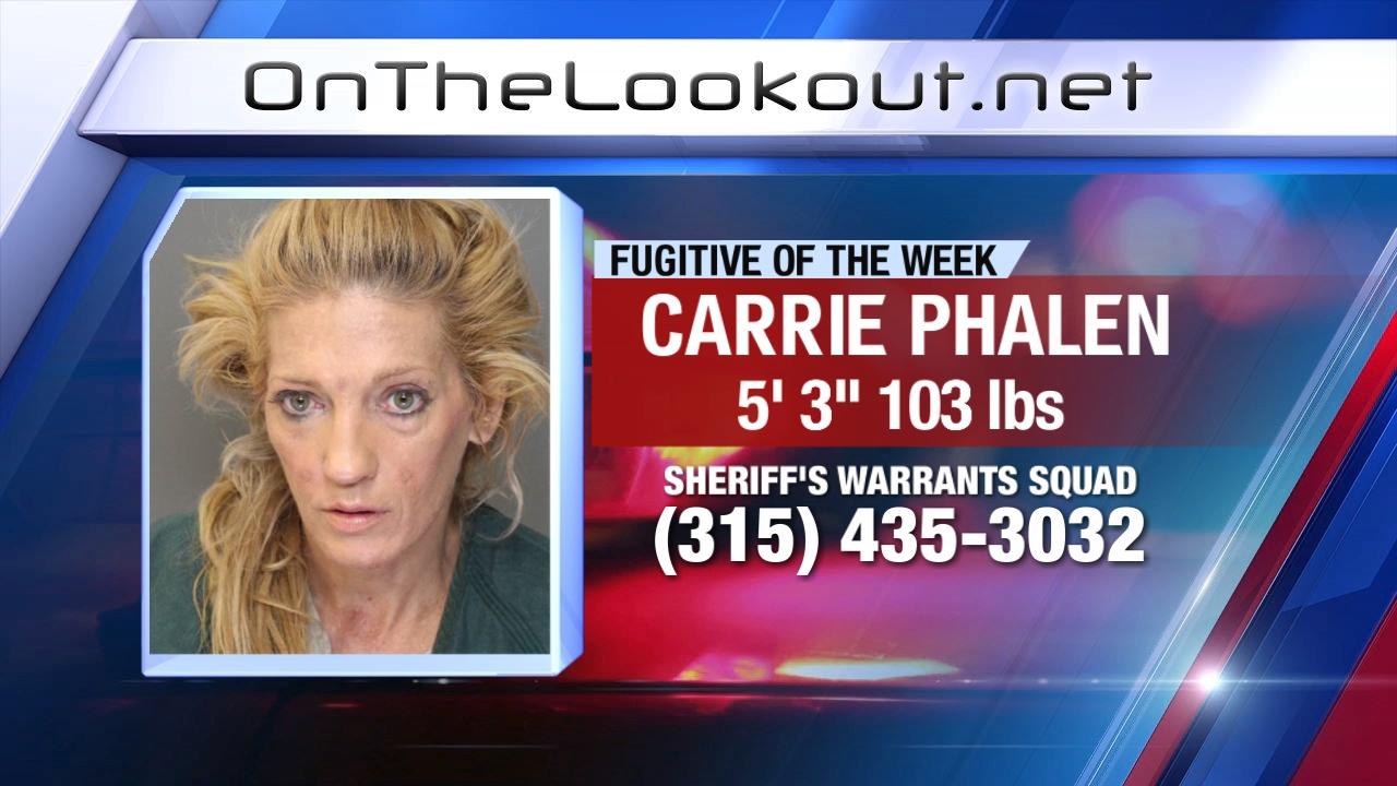 Fugitive of the Week: Carrie Phalen | WSYR