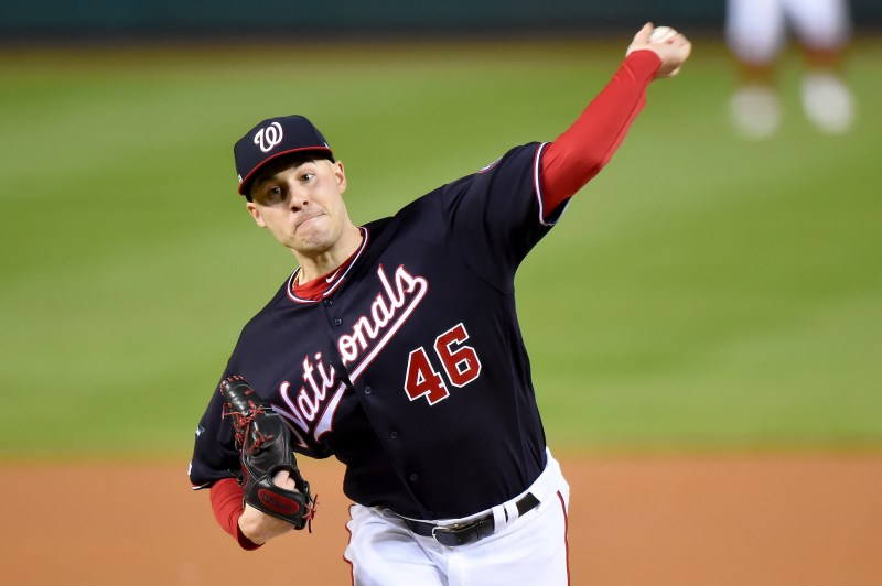 Former C-NS star Patrick Corbin pitches Washington to National League Title