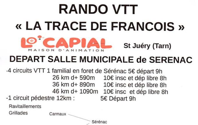 Trace de François