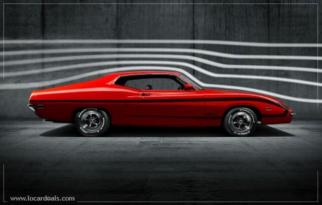 1970 Ford Torino King Cobra concept car