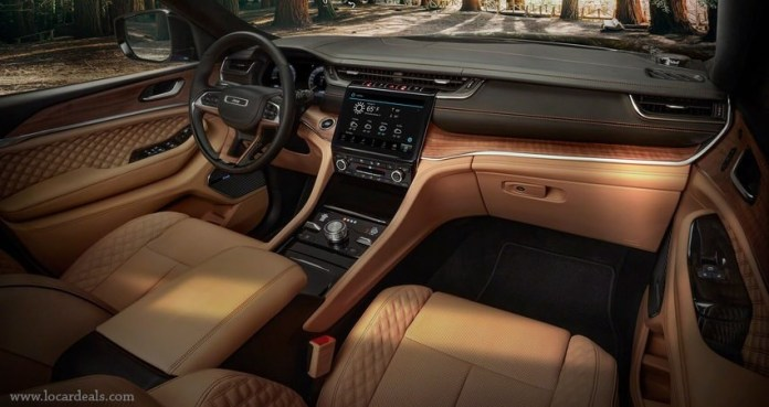 2022 jeep grand cherokee l Interior and Exterior