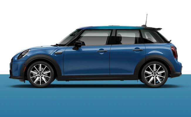 Mini Cooper 4-door - tiny cars