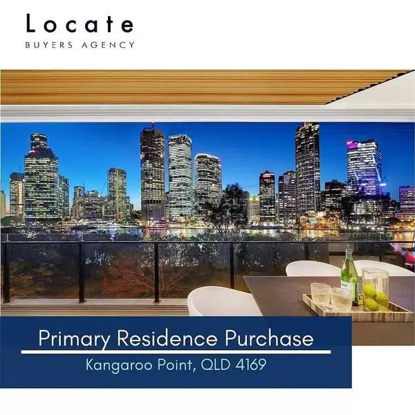 Primary Residence Purchase Kangaroo Point