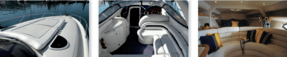 Day cruise yacht Superhawk 34 on the french riviera 2