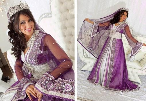Takchita pour mariage indien