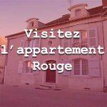 Visitez l'appartement rouge