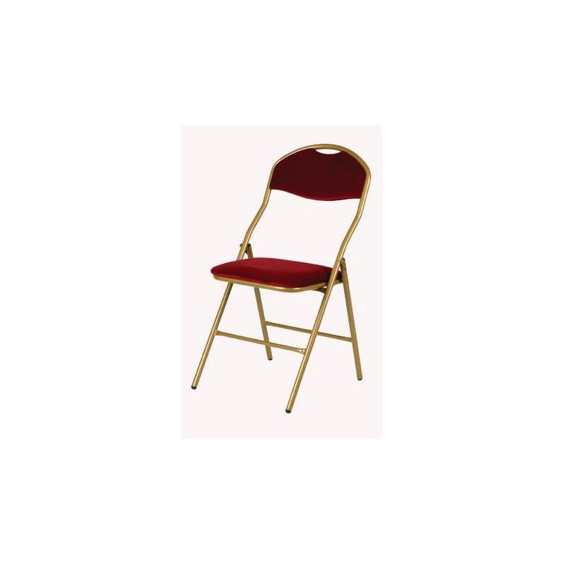 Location Chaise Pliante Chaise Rception Dor Et Rouge
