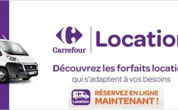 Carrefour Location voiture / camion / utilitaire