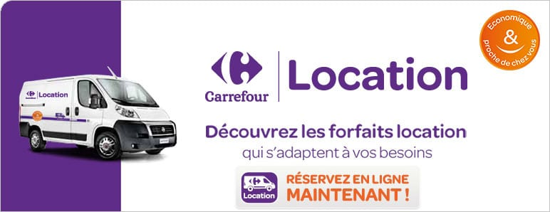 carrefour location voiture camion fourgon dans les. Black Bedroom Furniture Sets. Home Design Ideas