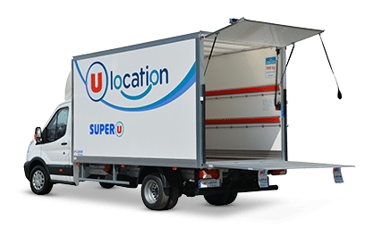 Location camion Super U