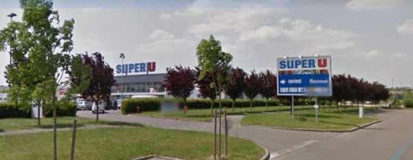 Super U location Brou