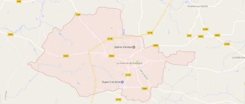 Location Voiture Camion Utilitaire à La Guerche De Bretagne 35130