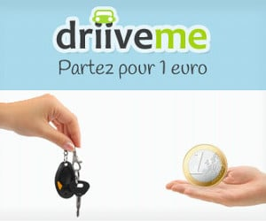 DriiveMe, location à 1€ en aller simple