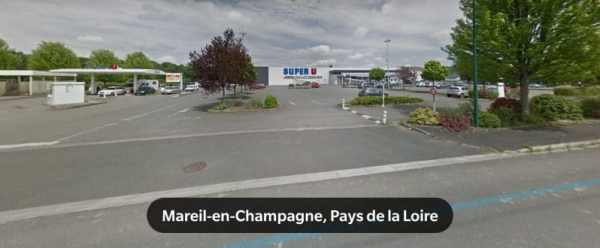 Super U location Mareil-en-Champagne