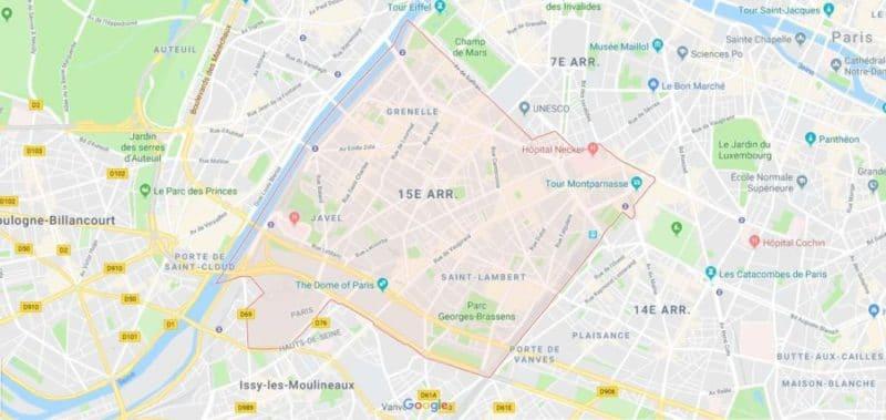 Location de voiture 75015