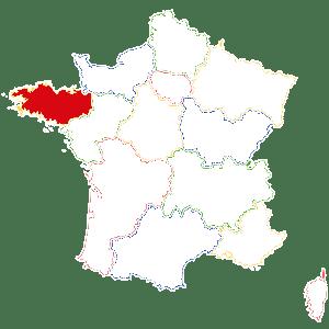 Situation de la Bretagne